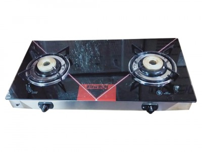 Blow hot Black 2B Glas top Gas Stove
