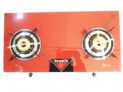 Blow hot Red 2B Glas top Gas Stove