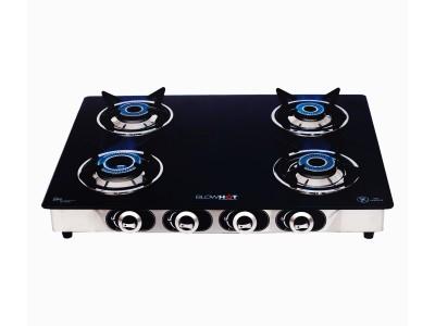 Blowhot Jasper 4B auto Heavy pan stand Glass top gas stove