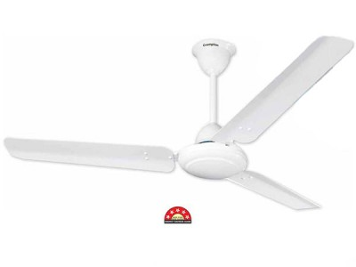Crompton Asset 50 1200mm Opal White ceiling fan