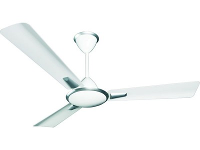 Crompton Aura Metallic 1400mm New White ceiling fan