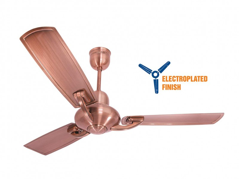 Crompton Triton Electroplated 1200mm Antique Copper ceiling fan