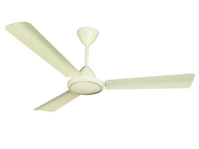 Crompton Jura 600mm Pearl Silver White ceiling fan