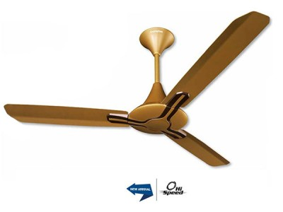 Crompton Splitz 1200mm Golden Brown ceiling fan