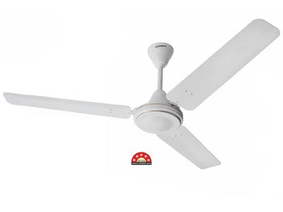 Crompton High Speed Plus 1200mm Opal White ceiling fan