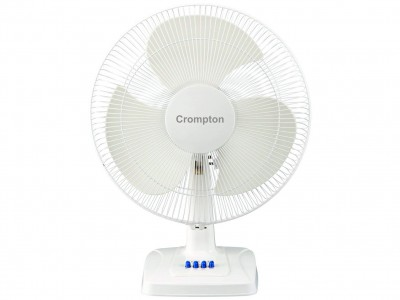 Crompton HS Whirlwind GaleNEW KD White 400mm Table Fan