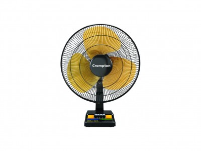 Crompton SDX Black Gold 400mm Table Fan