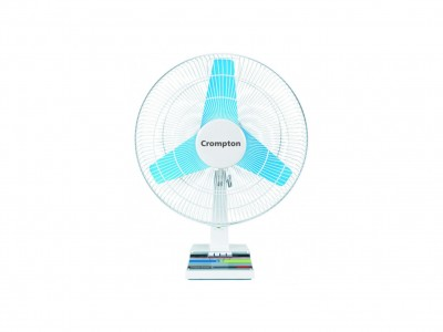 Crompton Windmill 400mm Ash Grey Table Fan