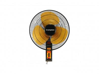 Crompton SDX Black Gold 400mm Wall mount fan