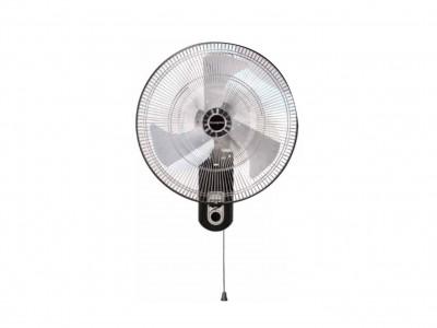 Crompton SStrom2 450mm Silver Black Wall mount fan