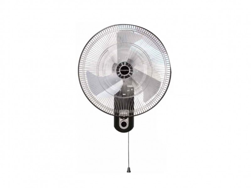 Crompton SStrom2 450mm Silver Black Wall mount fan