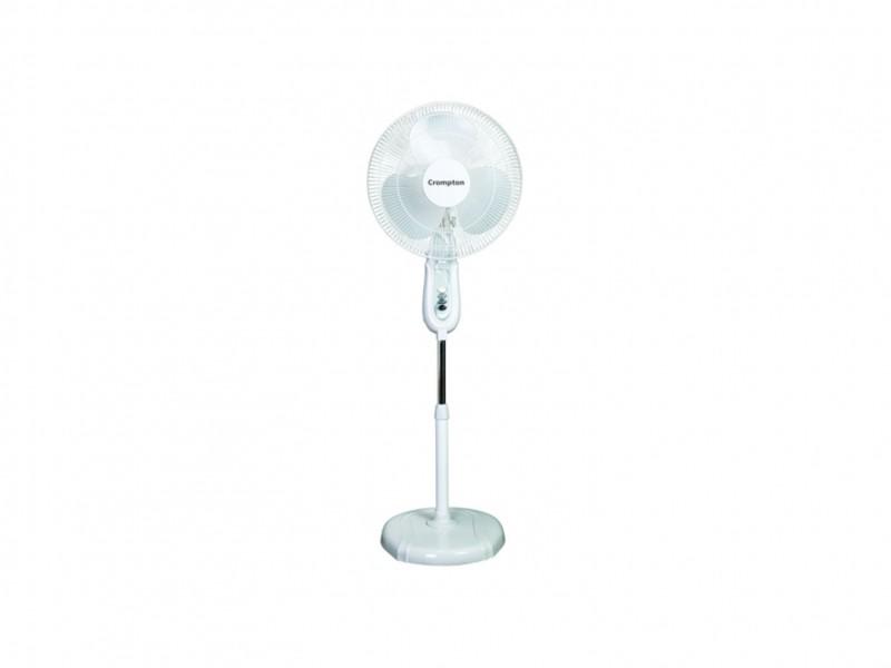 Crompton  High Flo LG 400mm Light Grey Pedestal Fan