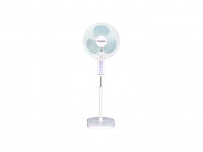 Crompton  High Flo Wave 400mm White Pedestal Fan