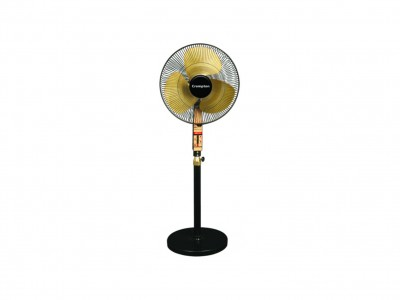 Crompton SDX Black Gold 400mm Pedestal Fan