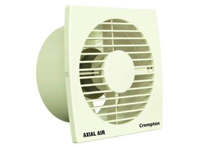 "Crompton Axial Air 6"" White Exhaust Fan"