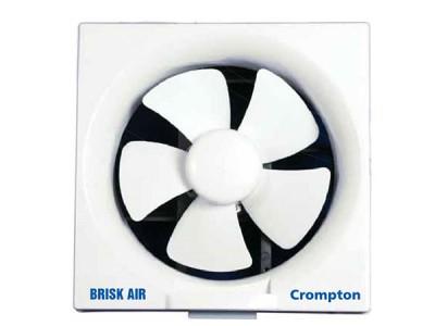 "Crompton Brisk Air 6"" White Exhaust Fan"