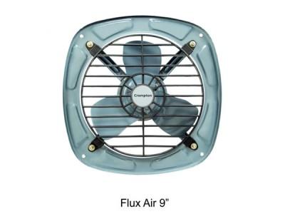 "Crompton Flux Air 9"" Grey Exhaust Fan"