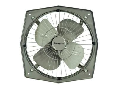 "Crompton Trans Air 6"" Grey Exhaust Fan"