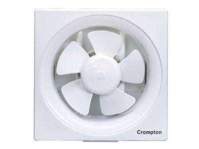 "Crompton Ventilus 6"" White Exhaust Fan"
