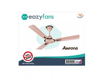 Eazyfans Aurora Anti Dust Rose Gold HS Ceiling Fan