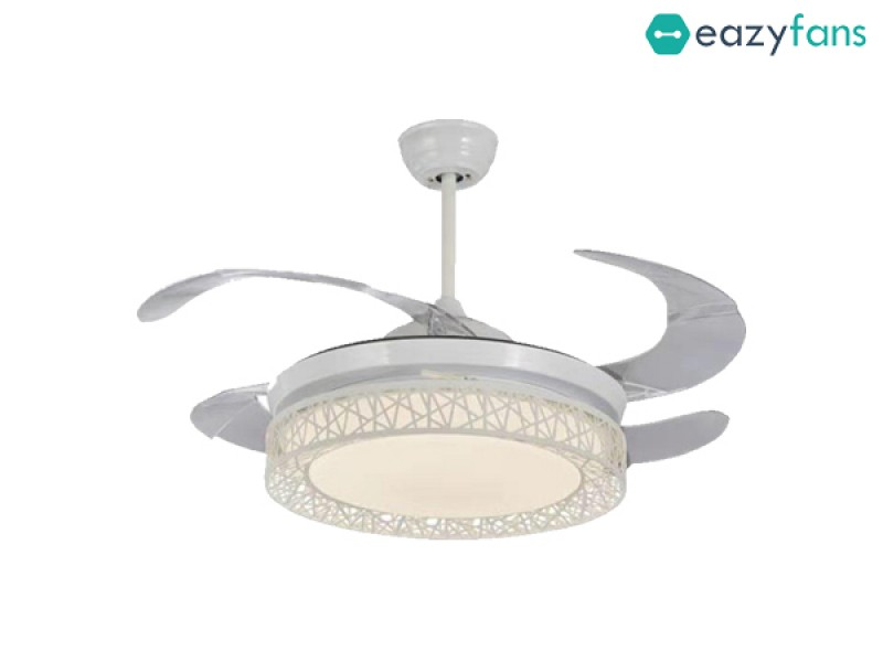 Eazyfans Retractable Ceiling Fan GLITZ-D02