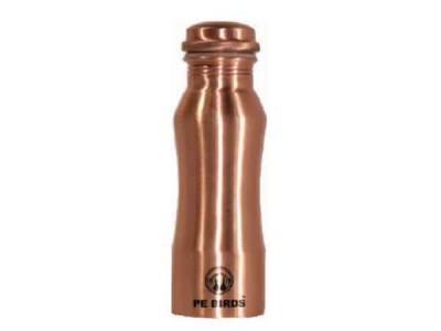 Peacocks Copper Flow Watter Bottle Curve Small 500ml