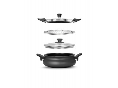PIGEON ALL-IN-ONE 3 LTR ANODIZED PRESSURE COOKER