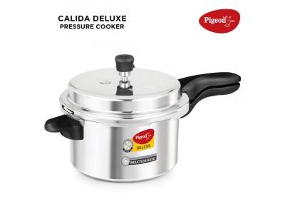 PIGEON CALIDA DELUXE ALUMINIUM PRESSURE COOKER(5LTR)