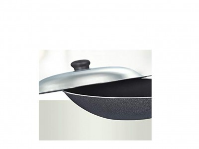 Prestige Omega Select Plus Non-Stick Chinese Wok with Lid, 30cm
