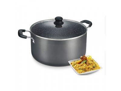Prestige Biryani Pot 340mm 15.7 Litre Capacity with Glass Lid
