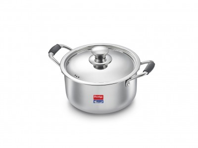 Prestige Tri Ply Casserole with Lid 240 mm