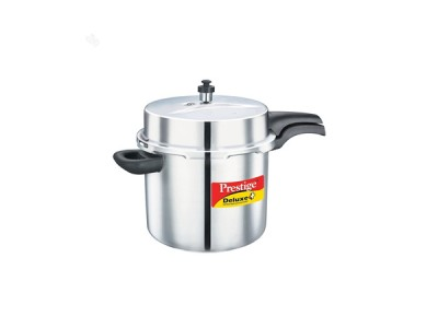 Prestige Deluxe Alpha Pressure Cookers 10 Litre Stainless Steel