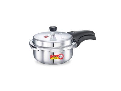 Prestige Deluxe Alpha Pressure Cookers 2 Litre Stainless Steel