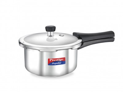 Prestige Popular Stainless Steel Pressure Cooker 2 L