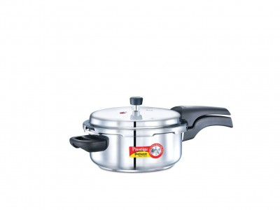 Prestige Deluxe Alpha Pressure Cookers 3 Litre Stainless Steel