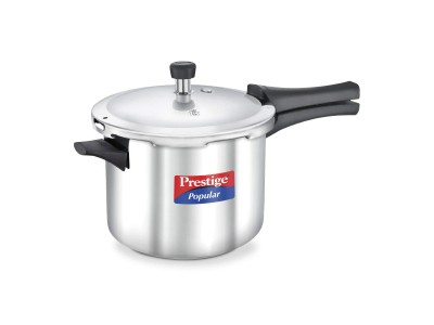 Prestige Popular Stainless Steel Pressure Cooker 5 L