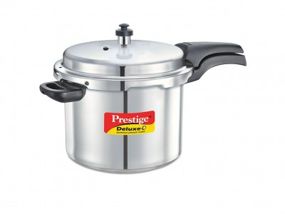 Prestige Deluxe Plus Induction Base Aluminium Pressure Cooker 7 Litre