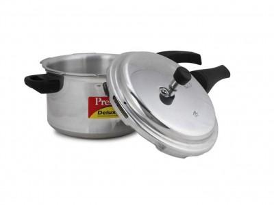 Prestige Deluxe Plus Induction Base Aluminium Pressure Cooker 7 Litre