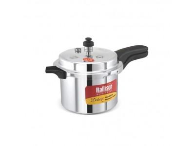 Rallison Deluxe Aluminium Pressure Cooker 10L