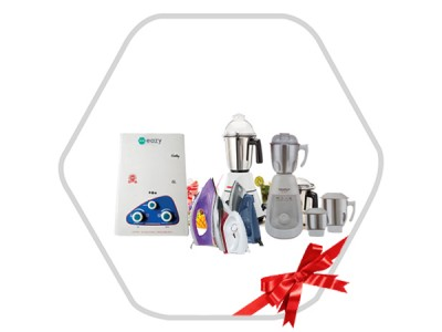 Combo Of Mixer Grinder,Gas Geyser & Dry Iron