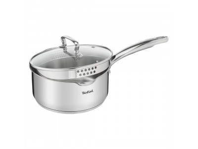 Tefal Duetto Plus Sauce Pan 16 cm with Glass Lid SS