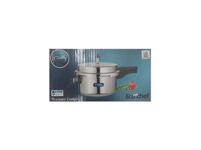 Rally Eco Chef 5 Litre Aluminium Pressure Cooker