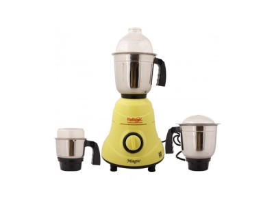Rallison Magic Mixer Grinder 550W 2 Yrs Warranty