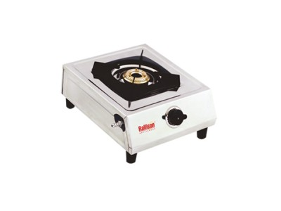 Rallison Gem Stainless Steel 1 Burner Gas Stove