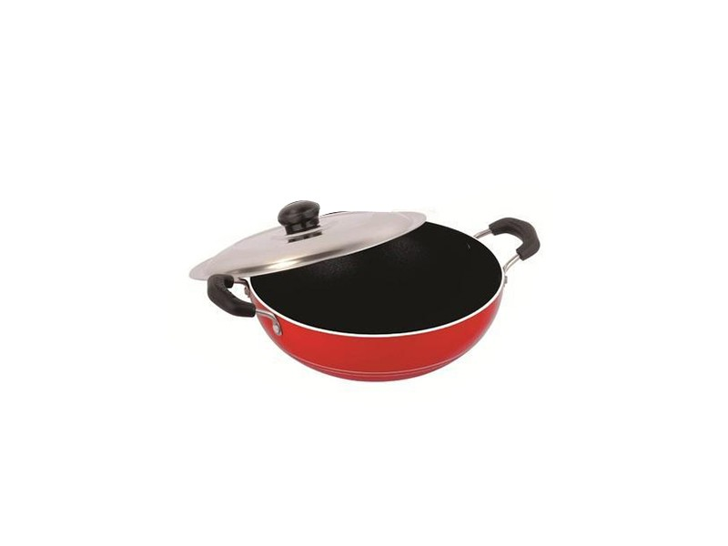 Nirlon Deep Kadai With Lid - Big (2.6L)