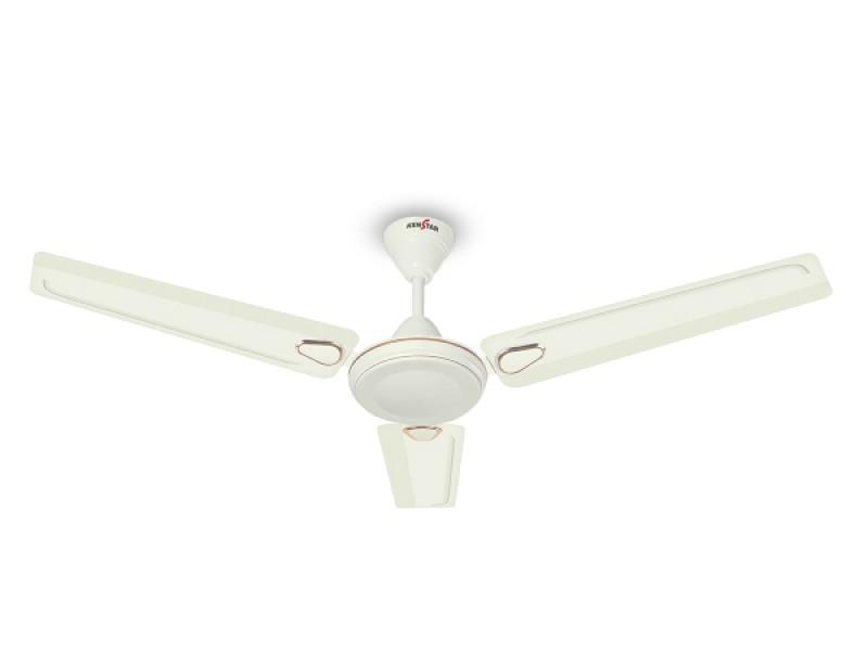 kenstar Glam 900mm Bianco Ceiling Fan